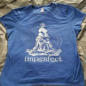 I'mperfect yoga shirt hippie boho